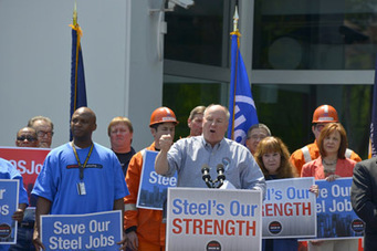 Steelworkers Rally in Pittsburgh in Support of Protecting Steel | Pittsburgh Pennsylvania | Scoop.it