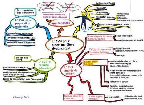 Une carte mentale pour les AVS en charge d'enfants DYS | élèves en difficultés | Scoop.it