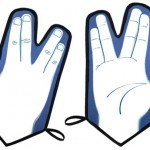 Vulcan Oven Mitt: Live Long and Potholder | All Geeks | Scoop.it