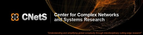 Center for Complex Networks and Systems Research - Indiana University | Complexity - Complex Systems Theory | Scoop.it