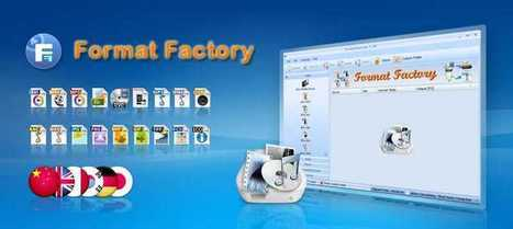 Format Factory - Free media file format converter | edición de vídeo | Scoop.it