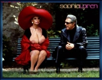 Il porno che non vedrete con Sophia Loren e... • Porno Fake   Fotomontaggi Porno   Scoop.it