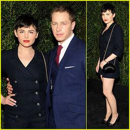 Ginnifer Goodwin & Josh Dallas – Chanel Pre-Oscars Dinner 2013 ... | TAFT: Trends And Fashion Timeline | Scoop.it