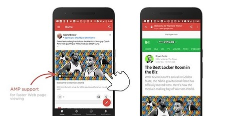 Support for AMP links rolling out in the Google+ Android app | Social Media Buzz | Scoop.it