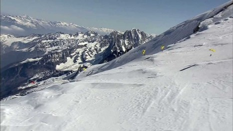 Speed Flying au Mont-Blanc - Apocalypse Snow Officiel - YouTube   Speedriding   Scoop.it