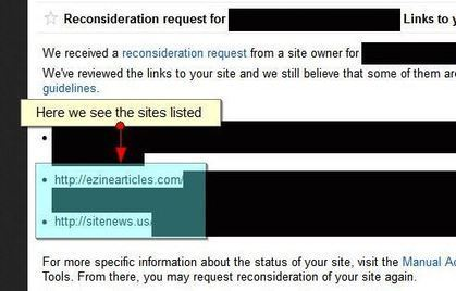 Ezine Articles & Press Releases Given As Bad Backlink Examples in WMT | Real SEO | Scoop.it