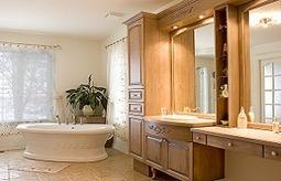 Une salle de bains bien meublée… et bien pensée! - EstriePlus.com | Salle de bains | Scoop.it