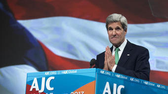 Kerry presses peace deal at American Jewish Committee meeting - Los Angeles Times | peace | Scoop.it
