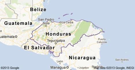 Map of Honduras | Enrique's Journey-Immigration | Scoop.it