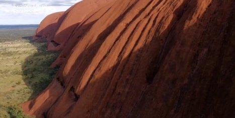Une vidéo vue du ciel à couper le souffle pour la roche australienne d'Uluru | Biodiversité | Scoop.it