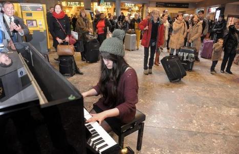 Le piano entre en gare! | Hôtel Héliot Toulouse | Scoop.it