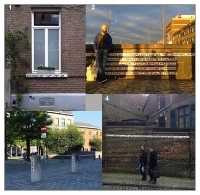 La Phrase, rupture poétique urbaine (Mons - Belgique) | TYPOGRAPHIE | Scoop.it