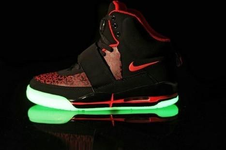 Nike Air Yeezy Glow In The Dark Black Red Shoes Hot Sale Online | Cheap Glow In The Dark Air Yeezy | Scoop.it