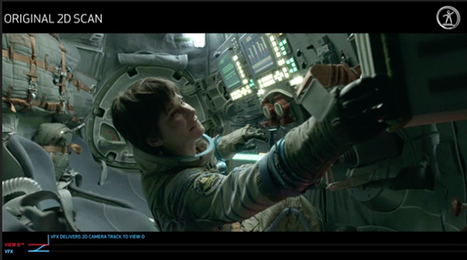 'Gravity' VFX Breakdown Shows Assembly of Digital Elements and 3D Conversion - /FILM | Visualmedia | Scoop.it