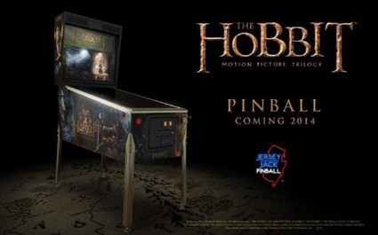 The Hobbit pinball playfield revealed | Pinball and Arcade Machines | Scoop.it