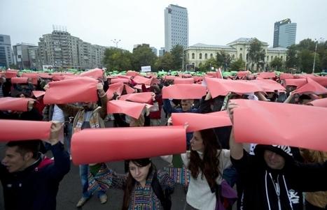 Roumanie - Nouvelle manifestation contre le projet de la minière canadienne | Save Rosia Montana | Scoop.it