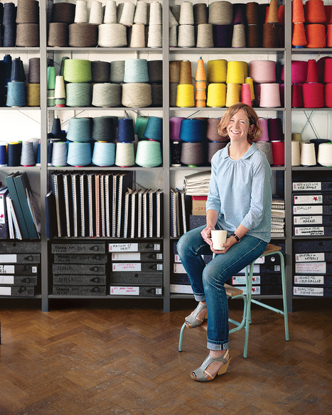 Material Girl: Eleanor Pritchard Has a Way with Wool: Remodelista | The Art of Crochet and Wool | Scoop.it