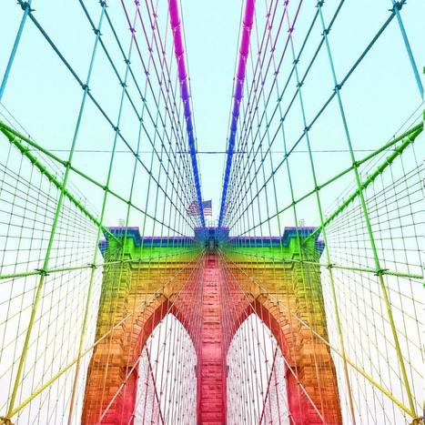 Ramzy Masri Turns Some Classic Buildings Into Rainbow Colors Creations | PhotoHab | Scoop.it