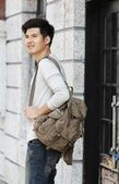 mens urban crouier backpacks | personalized canvas messenger bags and backpack | Scoop.it