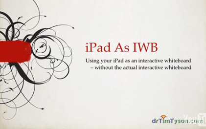 Turn ipad into IWB | Visual & digital texts | Scoop.it