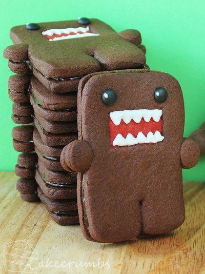 Deliciously Geeky Domo-Kun Cookies | All Geeks | Scoop.it