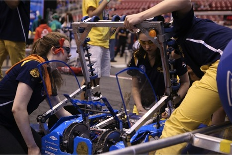 Battles of the Bots: Hands-on STEM is the Newest School Sport! | EdTech & Eduprenuer News Daily | Scoop.it