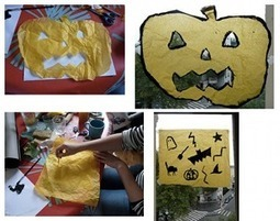 Halloween: Idées pour décorer la maison avec les enfants - Evous | Fiestas & Fêtes pour les petits | Scoop.it