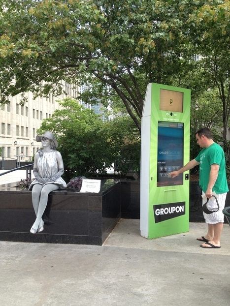 Groupon pushing deals with street-side touchscreens | News and Insights from the Marketing World | Scoop.it