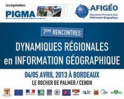 7èmes Rencontres des dynamiques régionales en information géographique soutenues par l'union Européenne | Fonds européens en Aquitaine | Scoop.it