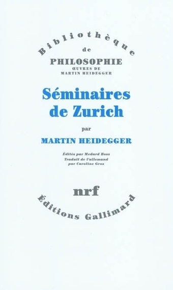 Martin Heidegger: Séminaires de Zurich | Archivance - Miscellanées | Scoop.it