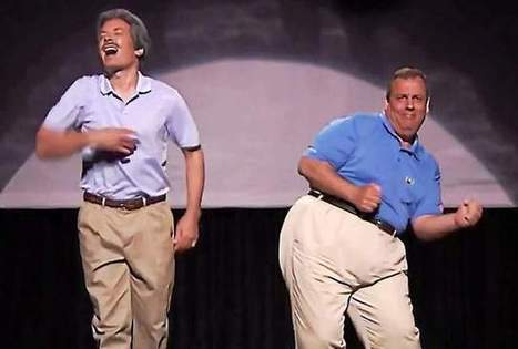 Christie on 'Tonight:' dances with Fallon, says he can beat Clinton | HMHS History | Scoop.it