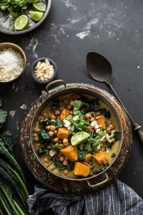 Chickpea And Coconut Korma Curry With Pumpkin - Cook Republic | Passion for Cooking | Scoop.it