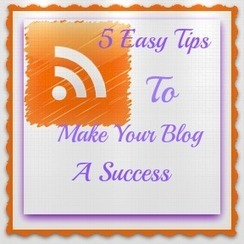 Easy Tips to make your Blog a Success - Assist Social Media | NewMedia Social | Scoop.it