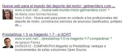 Cómo poner tu foto en los resultados de búsquedas de Google - Blog Diseño Web   TIC   Scoop.it