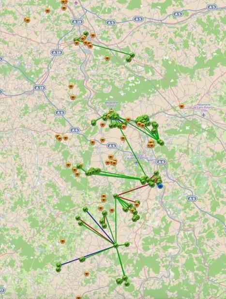 La carte de couverture en fibre optique des vil... | Aménagement Numérique | Scoop.it