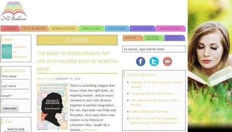 NZ Booklovers, site web pour bibliophiles de Nouvelle-Zélande - Actualitté.com | Création site internet | Scoop.it