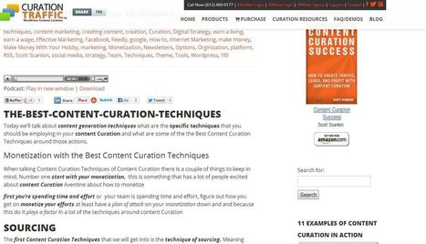 The Best Content Curation Techniques | Curation | Scoop.it