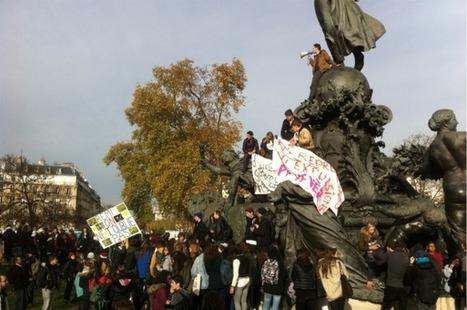 Les Inrocks - A Paris, la manifestation lycéenne contre les violences policières a dégénéré | L'enseignement dans tous ses états. | Scoop.it