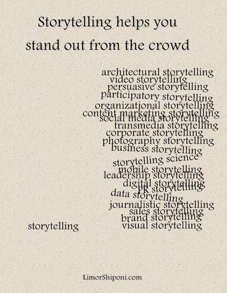Storytelling helps you stand out from the crowd | Story and Narrative | Scoop.it