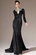 [EUR 149,99] eDressit 2014 New Black Embroidered High Neck Long Sleeves Evening Gown (02140800)   eDressit 2014 Nouveauté Magnifique Robe de Soirée en tendance   Scoop.it