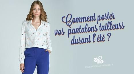 Comment porter vos pantalons tailleurs durant l'été ? | La mode, la mode, la mode ! | Scoop.it