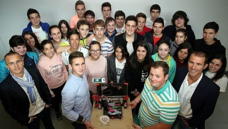 Una impresora 3D acaba provocando una revolución educativa en un instituto de Galicia - Impresoras 3D | Impresión 3D | Scoop.it