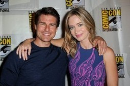 Tom Cruise and Emily Blunt: After Paris, they charm New York Edge of Tomorrow | Celebrity | Scoop.it