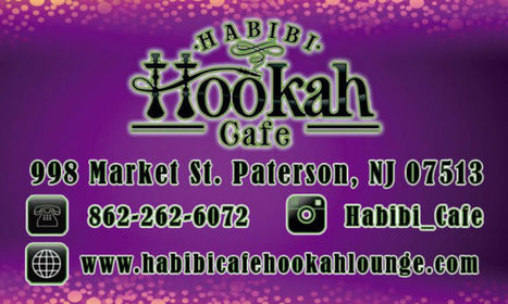 Hookah place in Paterson, NJ - Habibi Cafe & Hookah Lounge | Moonlight Hookah Lounge & Cafe | Scoop.it