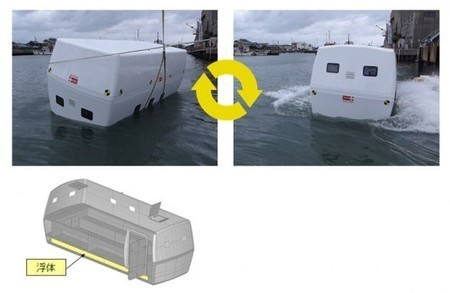 Tajima Motor Company to produce floating tsunami shelter | The Safe Guard from Corporate Crises | Scoop.it