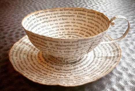 Old Books Find New Life in the Form of 3D Artwork | Reading discovery | Scoop.it