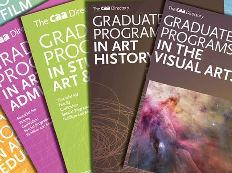 2013 Editions of CAA's Directories of Graduate Programs in the Arts ... | Arts University | Scoop.it