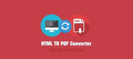 Top 5 HTML to PDF Converter for PDF Conversions | technology | Scoop.it