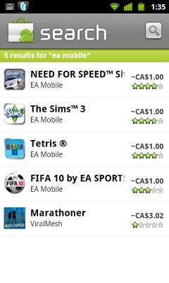 EA Mobile games now on sale for only 99 cents in the Android Market | Application Android | Scoop.it