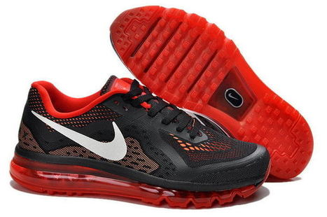 Men Air Max 2014 Sneaker Black/Red/White,Cheap nike air max 2014 black and red color running shoes online sale | Shoes | Scoop.it